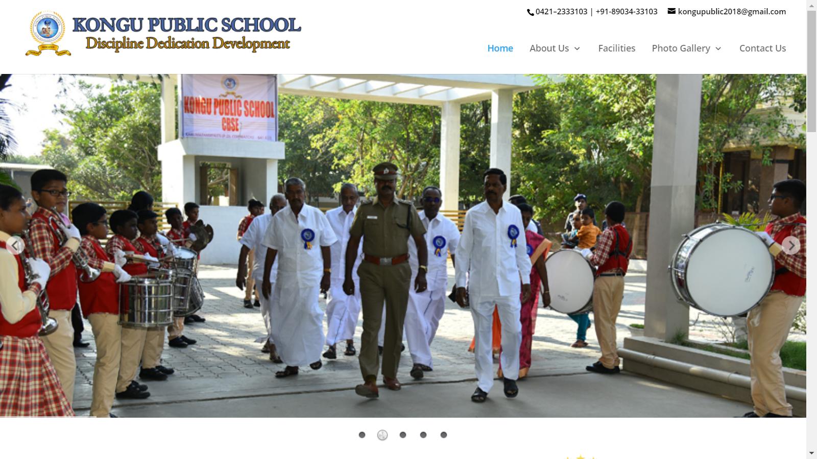 kongu public school